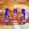bisericuta din Albac<br /> interior - altar